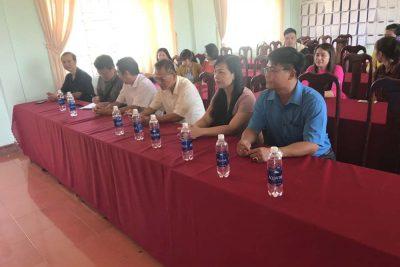 Đoàn công tác Sở Giáo dục và Đào tạo tỉnh Đồng Nai về thăm và tặng quà trường THPT Nguyễn Đình Chiểu