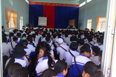 Những hình ảnh về buổi tuyền truyền bạo lực học đường năm học 2019 – 2020